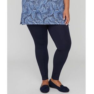 NWT CATHERINES Ponte Knit Front Seam Leggings